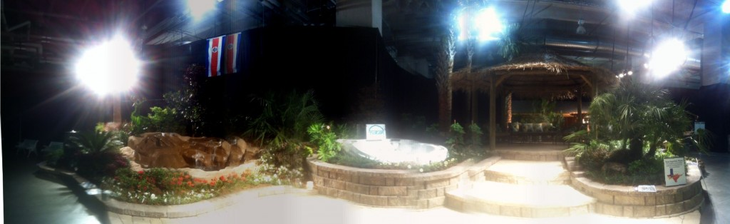 Great Big Texas Home Show Booth