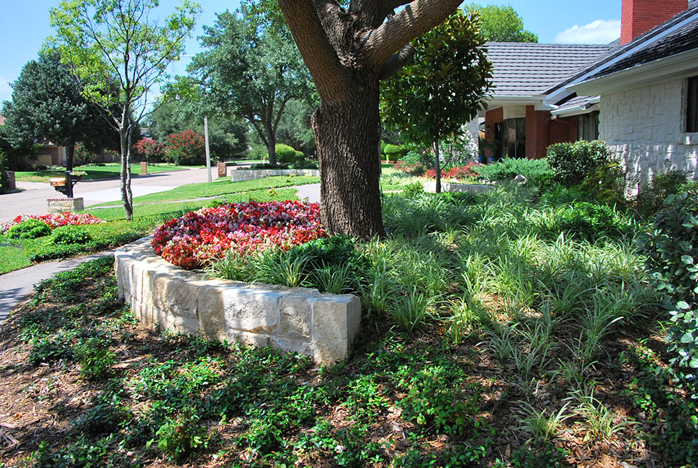 Landscape design in dallas abilene fort worth plano for Residential landscaping