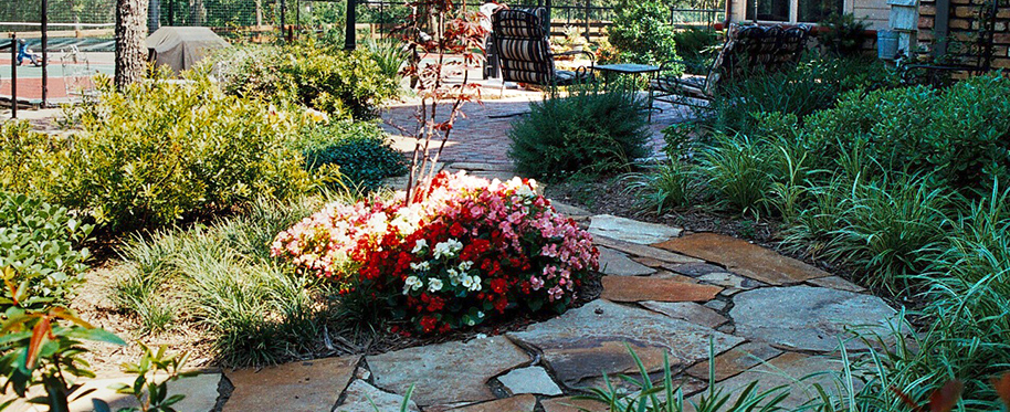 Landscape design in dallas landscaping materials near for Garden design landscaping dallas tx