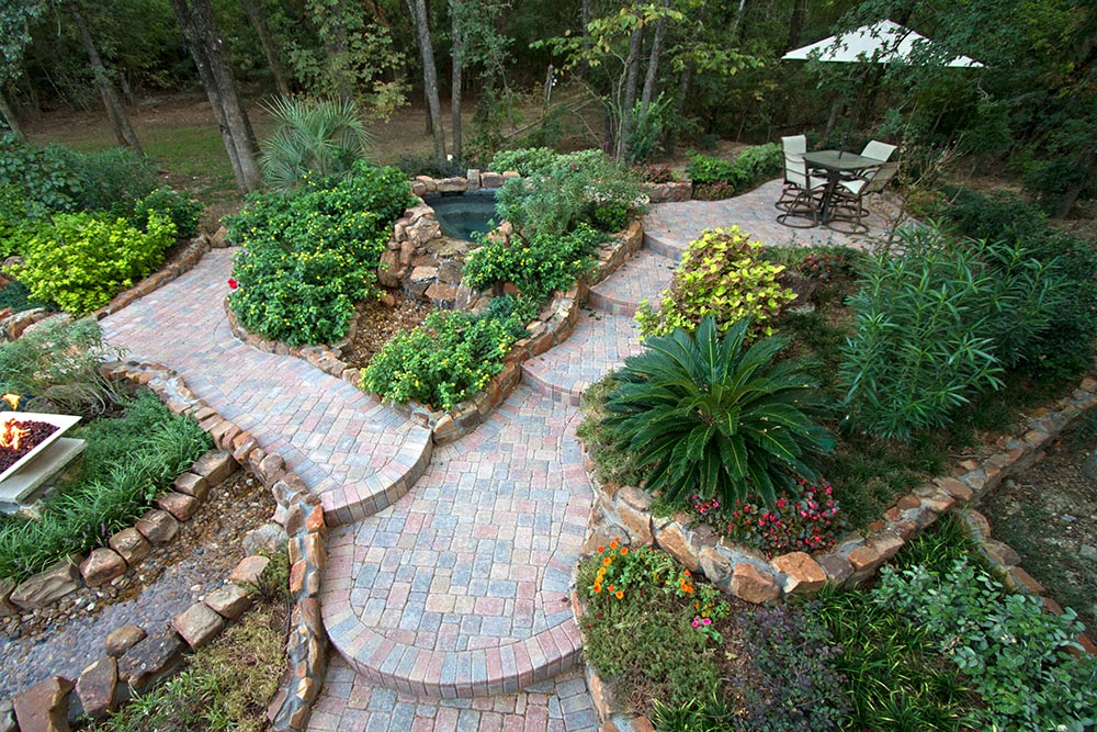 Scape idea outdoor pools and landscaping ideas dallas tx for Garden design landscaping dallas tx