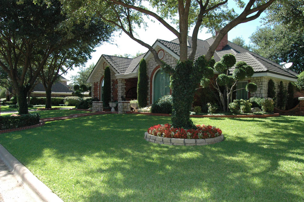 Portfolio dallas landscape design abilene landscaping for Garden design landscaping dallas tx