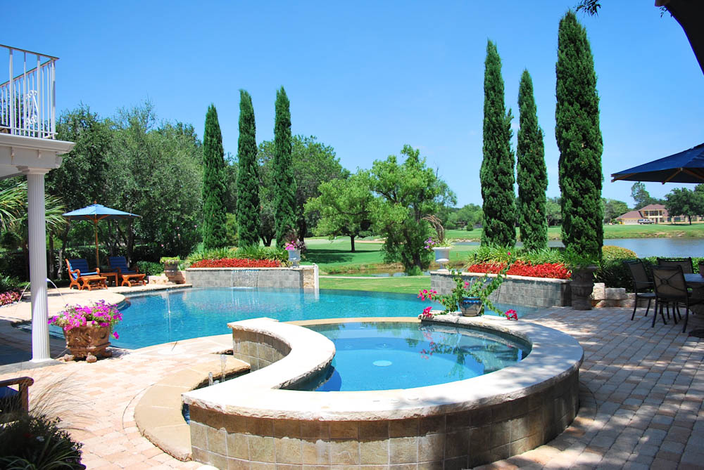 Pool builders dallas plano flower mound abilene for Pool builders