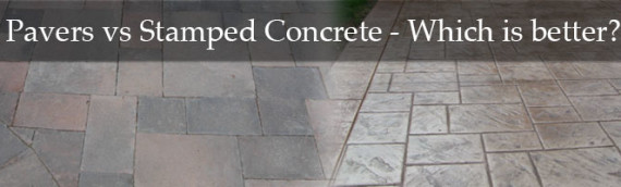 Pavers vs. Stamped Concrete – Which is better?