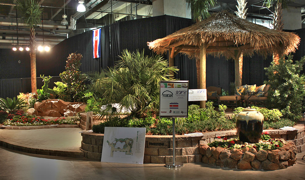 Backyard Landscaping Shows : Garden show cowboys stadium landscape booth dallas