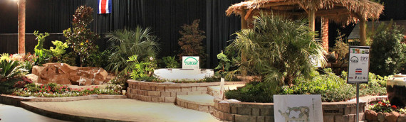 Great Big Texas Home & Garden Show – Cowboys Stadium – Landscape Booth