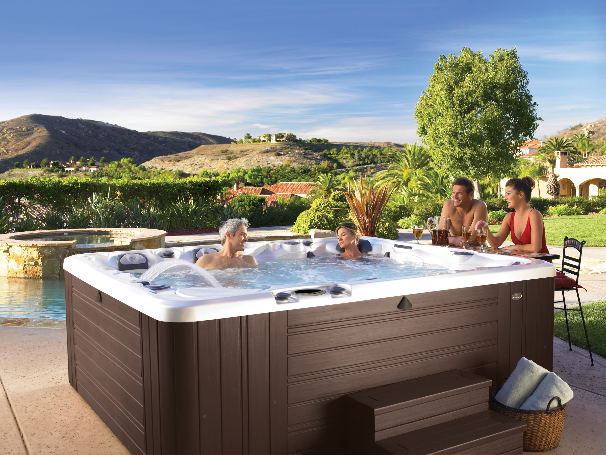 Where to buy a hot tub in dallas shopper 39 s guide - Jacuzzi en bois exterieur ...