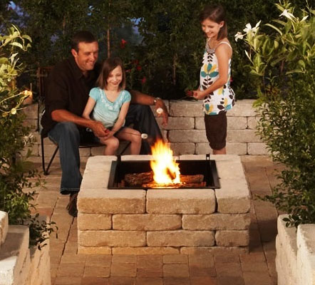 Wood Fire Pit